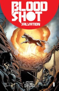 BLOODSHOT SALVATION #9 – Cover C by Giuseppe Camuncoli