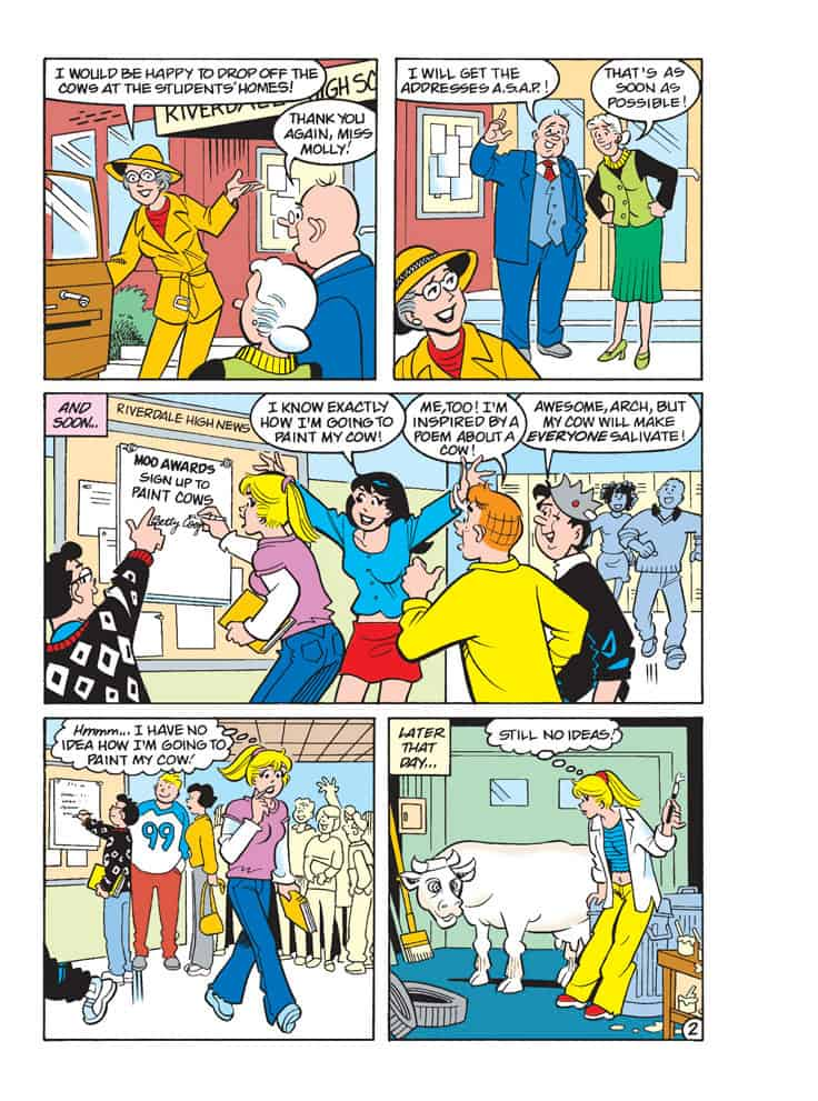 Betty And Veronica Comics Double Digest