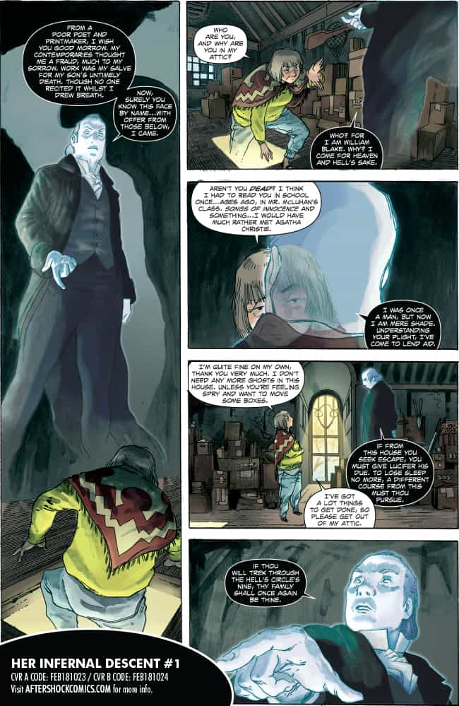 Her Infernal Descent #1 - preview page 6
