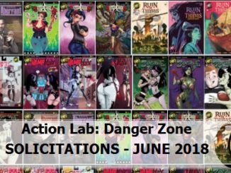 June 2018 Solicits - Action Lab Danger Zone