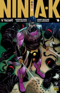 Ninja-K #6 - Pre-Order Edition by DAVID WILLIAMS