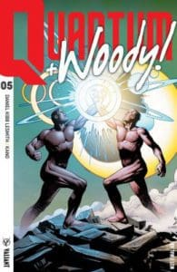 QUANTUM AND WOODY! (2017) #5 - Extreme Ultra-Foil Chase Variant by Geoff Shaw
