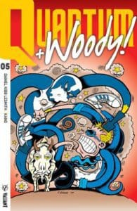 QUANTUM AND WOODY! (2017) #5 - Q&W Icon Variant by Peter Bagge