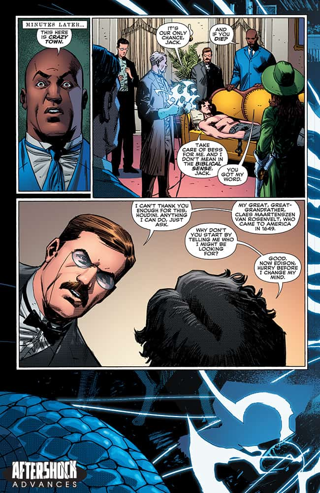 ROUGH RIDERS: RIDE OR DIE #3 - preview page 5