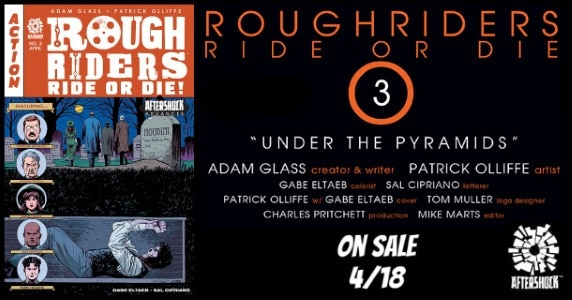 Rough Riders Ride or Die #3 feature