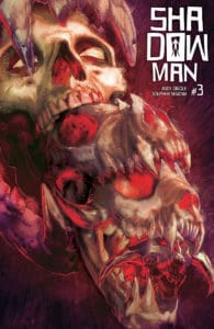 SHADOWMAN (2018) #3 – Cover B by Renato Guedes