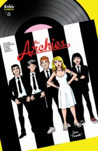 The Archies #6 - Cover B by Dan Parent
