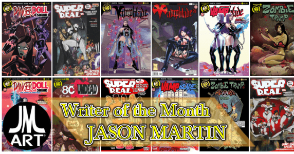 Writer of the Month April 2018 – Jason Martin feature