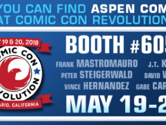 Aspen Comics at Comic Con Revolution Ontario