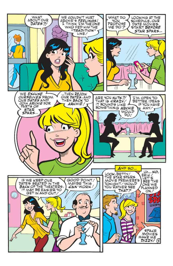 Betty and Veronica Friends Forever at the Movies