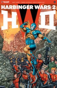 HARBINGER WARS 2 #4 (of 4) – Interlocking Variant by Juan José Ryp