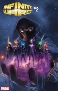 Infinity Wars #2 - Cover by Mike Deodato Jr.