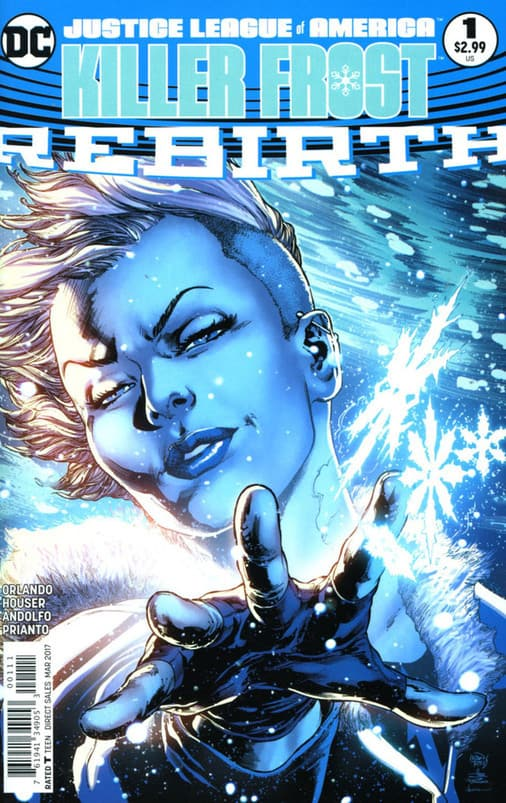 Justice League of America Killer Frost – Rebirth (2017) – #1