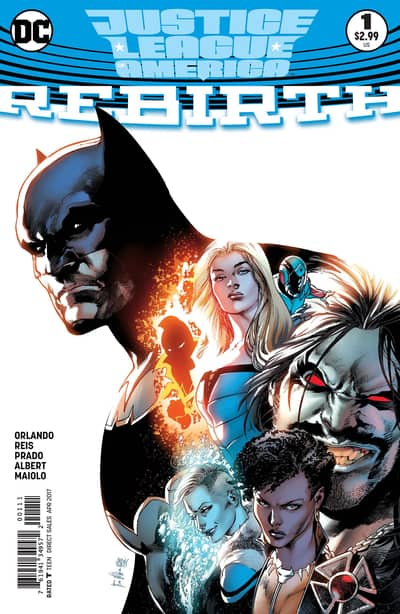 Justice League of America Rebirth (2017) – #1