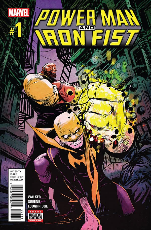 Power Man and Iron Fist (2016) – #1