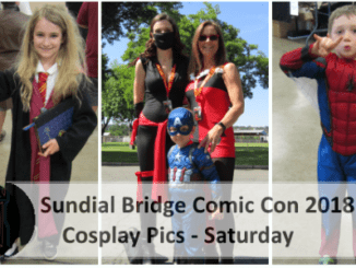 Sundial Bridge Comic Con 2018