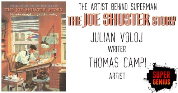 The Joe Shuster Story – The Artist Behind Superman feature