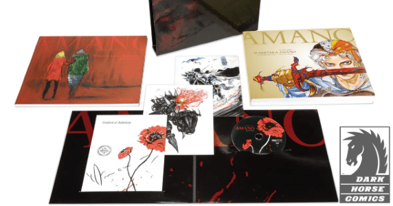 Yoshitaka Amano - The Illustrated Biography—Beyond the Fantasy hardcover feature