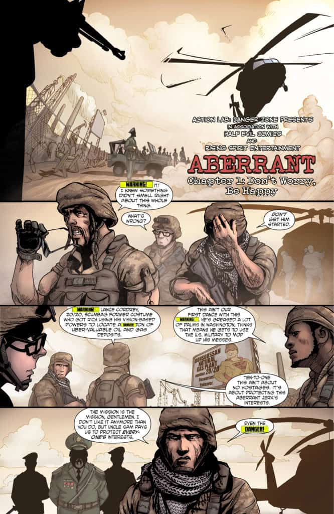 Aberrant issue #1