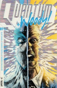 Quantum and Woody! #7 - Cover B (Extreme Ultra-Foil) by GEOFF SHAW