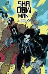 Shadowman #5 - Interlocking Variant by David Lafuente