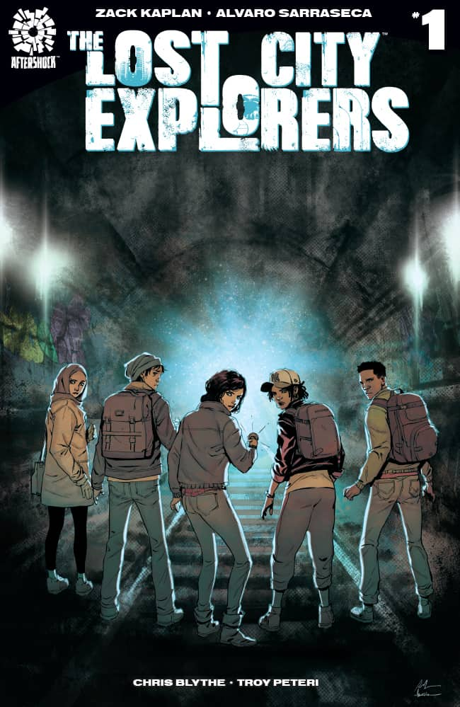 THE LOST CITY EXPLORERS #1 – Cover A by Rafael La Torre & Marcelo Maiolo