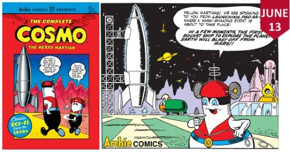 The Complete Cosmo the Merry Martian TPB feature