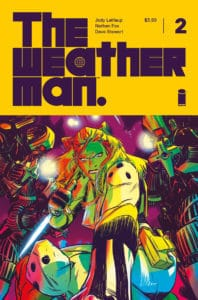 The Weatherman #2 - Cover A by Nathan Fox