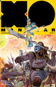 X-O Manowar #16 - Interlocking Variant by Veronica Fish