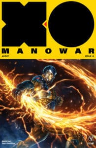 X-O MANOWAR (2017) #19 – Cover B by Alan Quah
