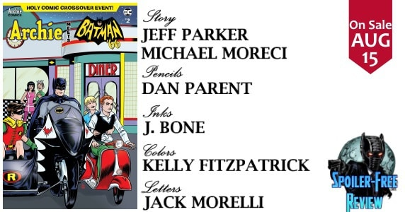 Archie Meets Batman 66 #2 review feature