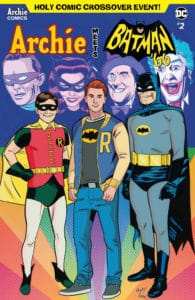 ARCHIE MEETS BATMAN '66 #2 - Variant Cover by Wilfredo Torres and Kelly Fitzpatrick