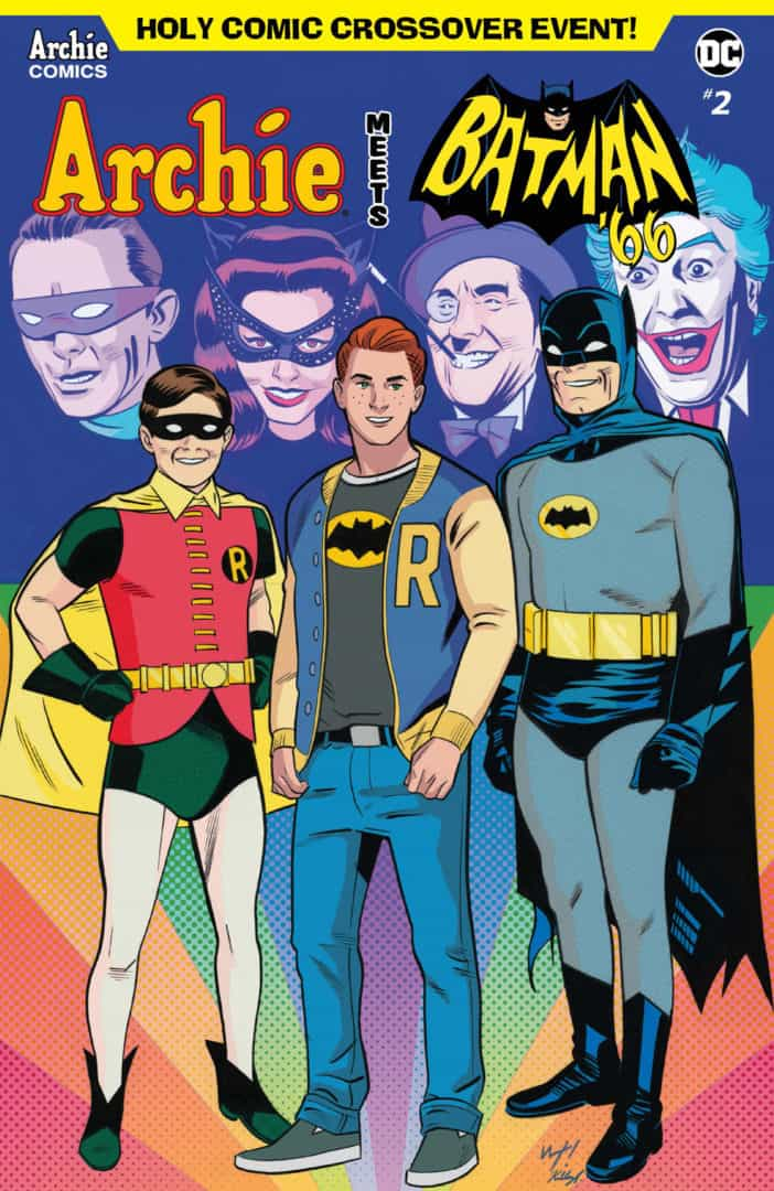 ARCHIE MEETS BATMAN '66 #2 – Variant Cover by Wilfredo Torres and Kelly Fitzpatrick