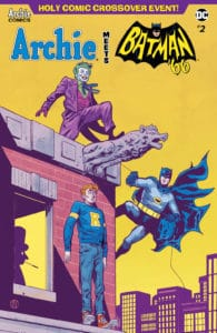 ARCHIE MEETS BATMAN '66 #2 - Variant Cover by Michael Walsh