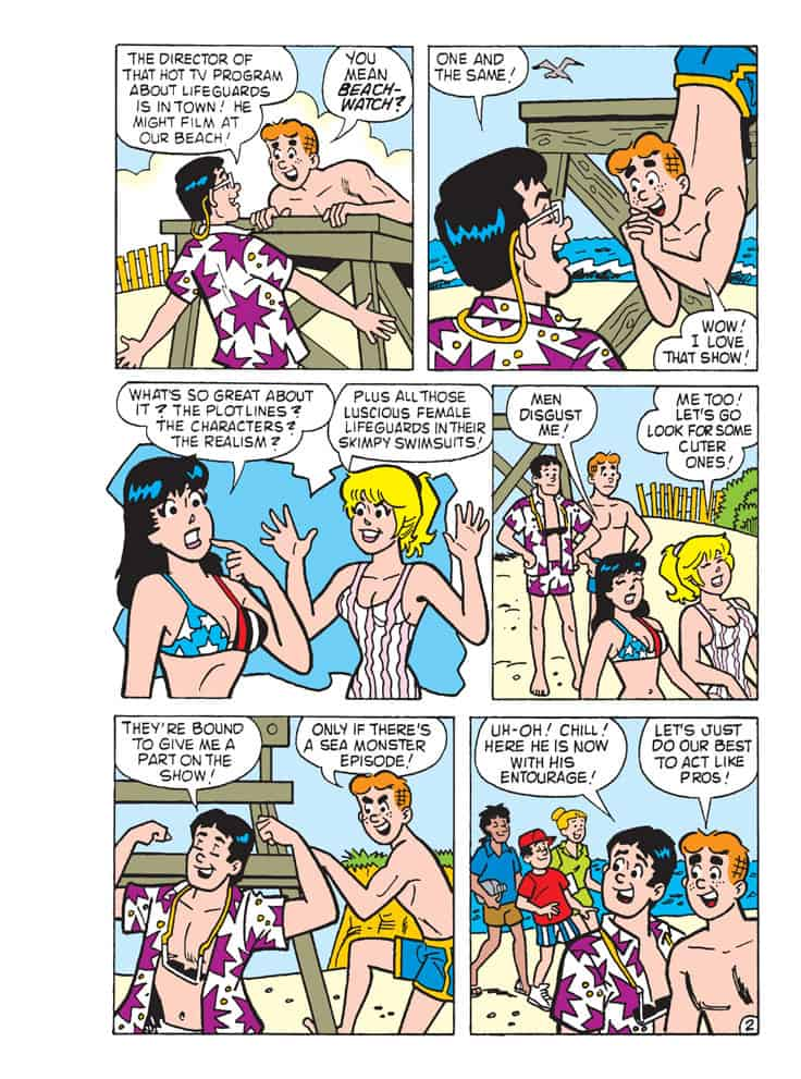 Betty And Veronica Friends