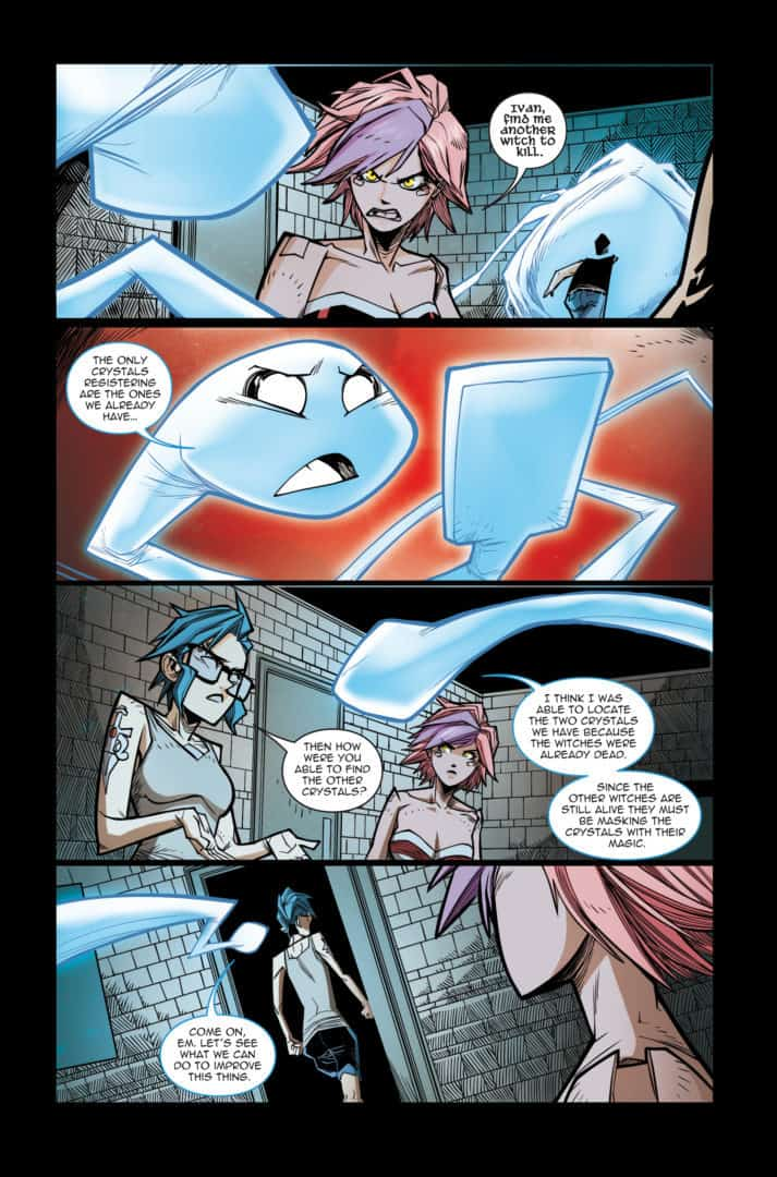 DollFace #15 Page 1