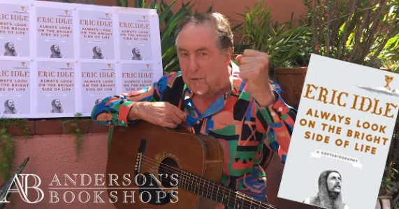 Eric Idle book tour