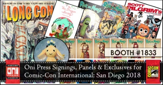 Oni Press at SDCC feature