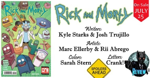 Rick and Morty #40 review feature