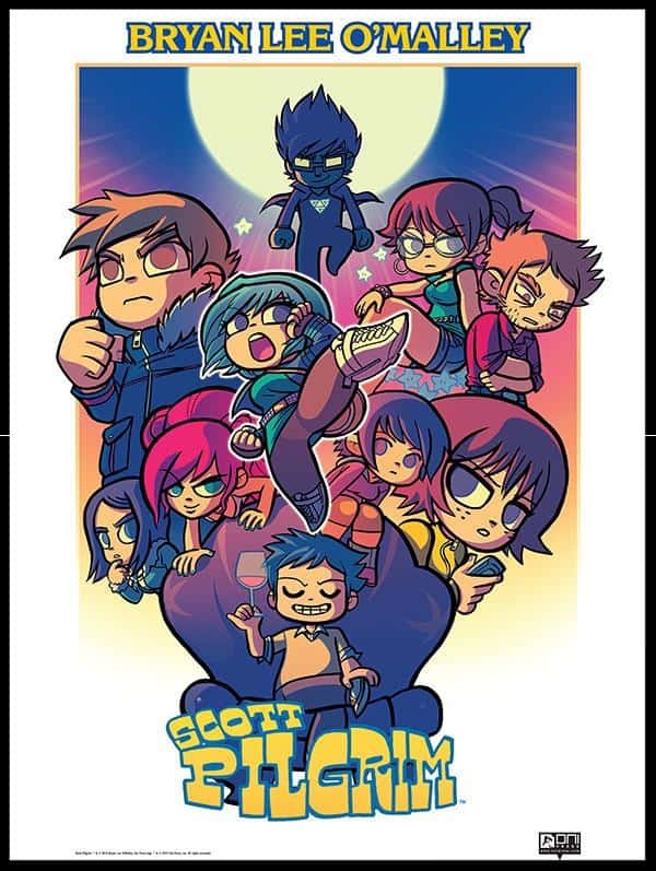 Scott Pilgrim Puzzle Fighter poster