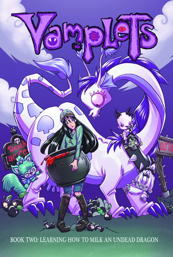 Vamplets Book 2 Cover