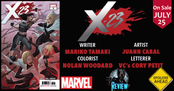 X-23 #2 review