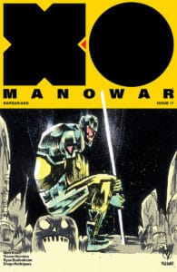 X-O MANOWAR #17 - Cover B by Jim Mahfood