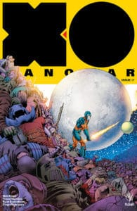 X-O MANOWAR #17 - X-O Manowar Icon Variant by Barry Kitson