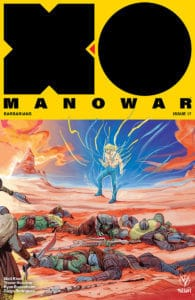 X-O MANOWAR #17 - Interlocking Variant by Veronica Fish