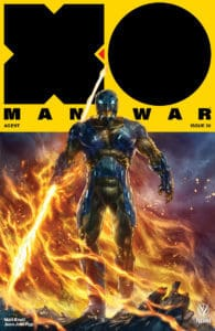 X-O MANOWAR (2017) #20 - Cover B by Alan Quah