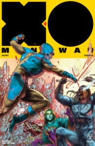 X-O MANOWAR (2017) #20 - Interlocking Variant by Renato Guedes
