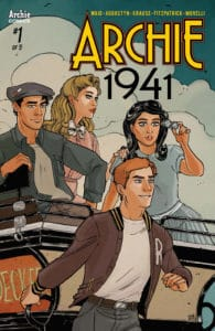 Archie 1941 #1 - Variant Cover by Sanya Anwar