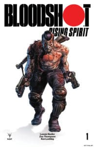 BLOODSHOT RISING SPIRIT #1 - Glass Variant Cover by Doug Braithwaite