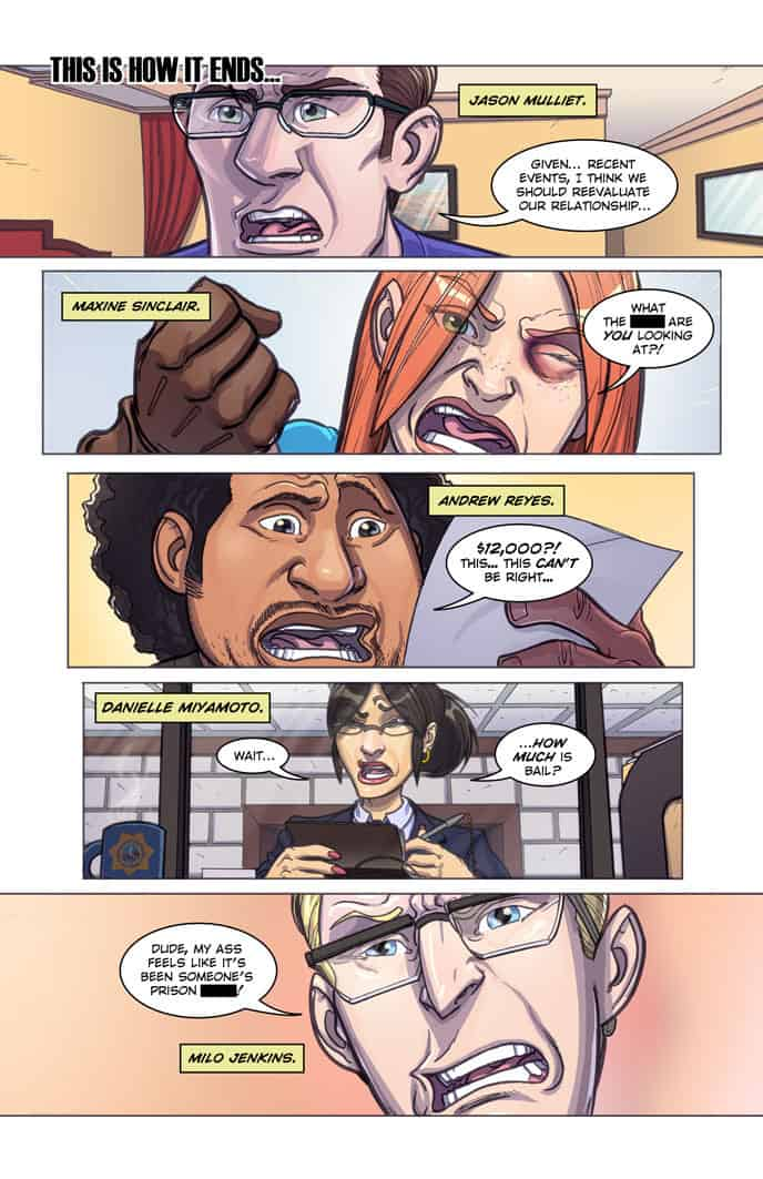 Double Jumpers Vol. 1 preview page 1